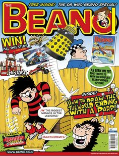 Doctor Who in The Beano Comic