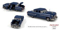 Packard 1953 Clipper Sedan Lego Vehicles, Rear Window, Cadillac