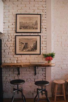 Thompson + Prince: DIY Rustic Wood Bar