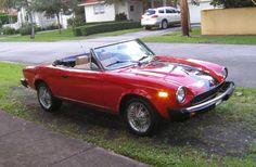 1980 Fiat 2000 Spider  $7000