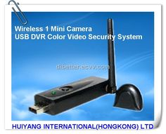 Wireless 1 Mini Camera USB DVR Color Video Security Camera System ... Protect your family, friends and business. See the newest technology on Wireless surveillance system at hiddenwirelesssecuritycameras.com