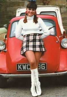 Mini Skirts and Boots-my first wife dressed like this and looked fantastic, especially in her hot pants/boots.