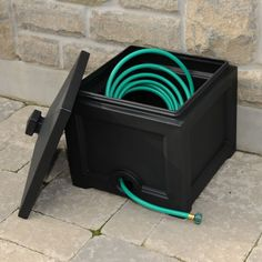 Our Fairfield collection of products has been expanded to include more outdoor décor solutions. The new Fairfield Garden Hose Bin is a perfect place to store garden hoses up to 100ft in length. A pre-