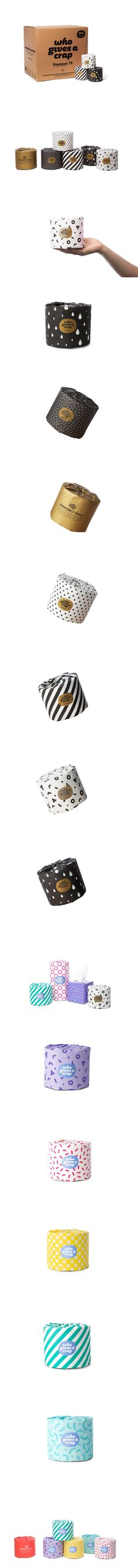 Who Gives a Crap Comes Out With New Packaging For Their Cheeky Toilet Paper — The Dieline | Packaging & Branding Design & Innovation News