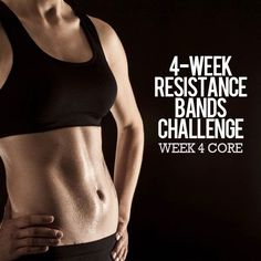 4 Week Resistance Bands Challenge | Cute Health
