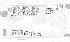 Hammam & housing - Patumbah, Zürich - Switzerland - Miller Maranta - 2012 Architecture Plan, Old And New, Floor Plans, Layout, How To Plan, City, Switzerland, Drawings, Amazing