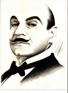 David Suchet = Hercule Poirot
