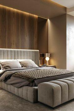 Modern Luxury Bedroom, Luxury Bedroom Design, Master Bedroom Interior, Modern Master Bedroom, Bedroom Furniture Design, Master Bedroom Design, Contemporary Bedroom, Luxurious Bedrooms, Bedroom Decor