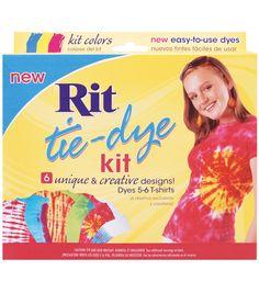 Rit Tie-Dye Kit-Red, Blue, Yellow