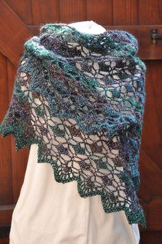 Morpho Shawlette By Cheri McEwen - Free Crochet Pattern - (ravelry)