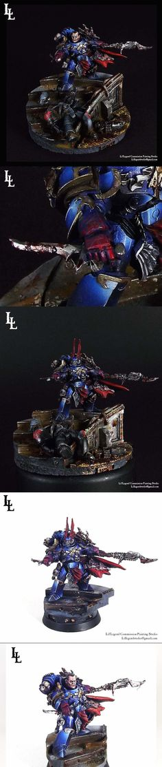 Sevatar Prince of Crows Horus Heresy Night Lords In Midnight Clad