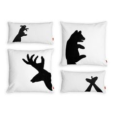 Shadow Puppet Pillow 4 Pack / Gus*--Modern Furniture That Gives Back
