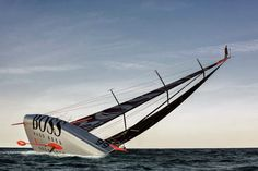 Alex Thomson does the best ever marketing stunt that involves sailing for Hugo Boss