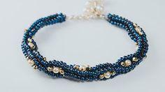Beaded Bracelet Wave.~ Seed Bead Tutorials