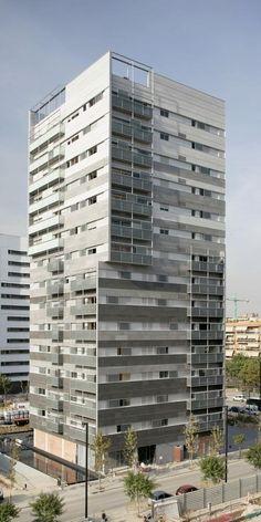 Fachadas ventiladas de Sistema Masa                                                                                                                                                     Más