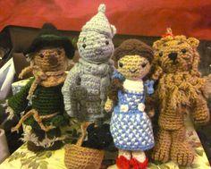 deviantart by spudsstitches wizard of oz amigurumi crochet