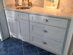 Custom Kitchen Cabinets w/ bar sink