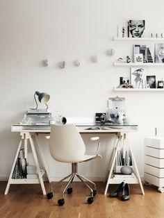 24 Examples Of Minimal Interior Design, SIMILAR TO THE IKEA TRESTLE BASE