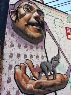 """Belin"" (Linares, España) #streetart jd                                                                                                                                                                                 More"