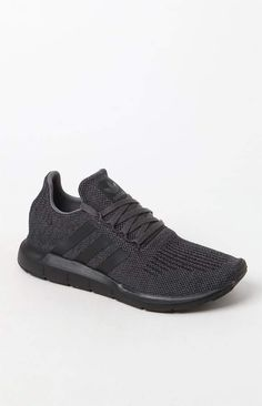 adidas Swift Run Grey   Black Shoes c285db3bf6