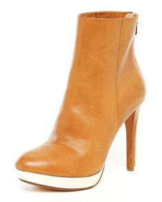 Rochelle Leather Zip Bootie by MICHAEL Michael Kors at Neiman Marcus.