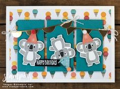 Happy Birthday (Birthday Bonanza Suite / CASE the Catalogue) - Stampers Workshop post_tags] Kids Birthday Cards, Happy Birthday Images, Funny Birthday Cards, Diy Birthday, Vintage Birthday, Birthday Quotes, Birthday Greetings, Birthday Wishes, Card Making Inspiration