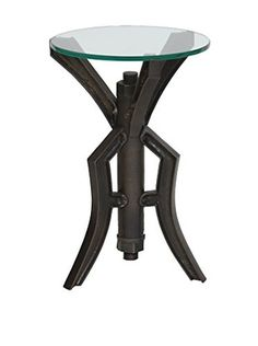 Prima Design Source Nut & Bolt Accent Table, Old Iron