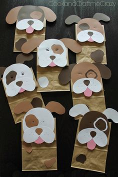 Cook and Craft Me Crazy: Puppy Dog Party Bags