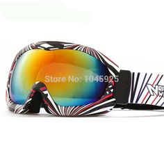 New  Ski Goggles Double Anti-fog  Skiing Glasses Low-cost High-quality Sports Snow Ski  Clear Lens Snowmobile Goggles