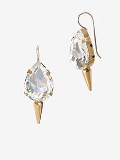 For the confident woman -Fallon Dagger Rhinestone Earrings