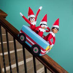 Free Elf Car Printable - One way ticket to fun! #ScoutElfIdeas | Elf on the Shelf Ideas | Ideas for Scout Elves | Printable Elf Ideas | Creative Elf on the Shelf Ideas