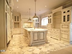 dark rustic cabinetry | kitchen-cabinets-traditional-two-tone-008