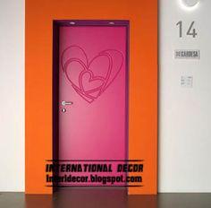 Modern art doors 2013, modern doors designs and colors