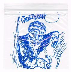 Wolfman by Russ on lunch bag