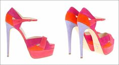 Fun Filled Multi-Colour Shoes for You to Wear in Summer!
