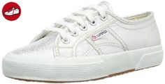 Superga 2750 Lamej, Unisex-Kinder Sneakers, Silber (031), 25 EU (7.5 Kinder UK) - Superga schuhe (*Partner-Link)