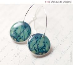 Hey, I found this really awesome Etsy listing at https://www.etsy.com/listing/62842992/branches-hoop-earrings-free-shipping