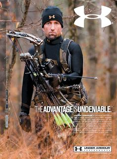 Under Armour. Some of the best hunting gear out there