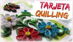 TARJETA QUILLING - PASO A PASO