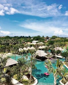 Movenpick Bali is all about.. Sun, Trees, and Free-form Pool