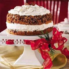 Praline-Pumpkin Torte | MyRecipes.com: December