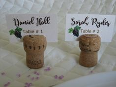 Wine & Chocolate Rustic Vineyard Collection – reception place card  created by Above & Beyond – Custom Events & Stationery