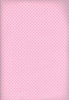 Tecido poá rosa