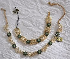 Coro Jewelry - 2 pieces from secollectibles on Ruby Lane