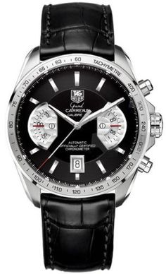TAG Heuer Men's CAV511A.FC6225 Grand Carrera Chronograph Calibre 17 RS Watch from TAG Heuer @ TAG-Heuer-Watches .com