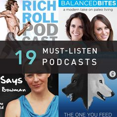 New to the podcast party? Get ready for entertaining and informative info on health, fitness, nutrition, and happiness--all for free!