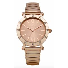 Lipsy Ladies Rose Gold Tone Watch