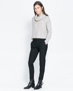 Image 1 of COOL WOOL TROUSERS from Zara