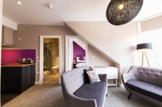 Living Room, Hanover Street Serviced Apartments, Edinburgh Part 79