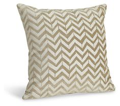 Herringbone White Pillow - Pillows - Accessories - Room & Board
